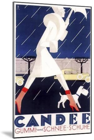 Art Deco--Mounted Premium Giclee Print