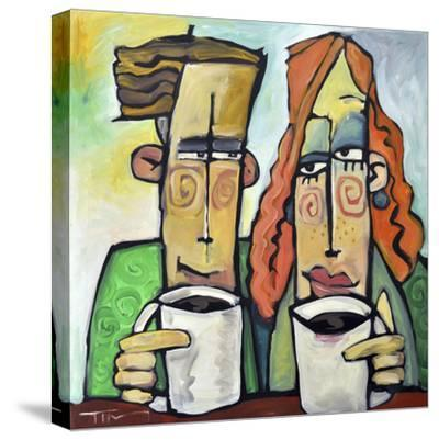 Coffee Date-Tim Nyberg-Stretched Canvas Print