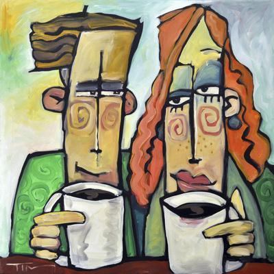 Coffee Date-Tim Nyberg-Premium Giclee Print