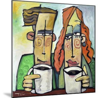 Coffee Date-Tim Nyberg-Mounted Giclee Print
