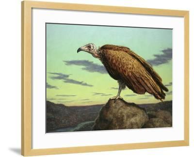 Buzzard Rock-James W. Johnson-Framed Giclee Print