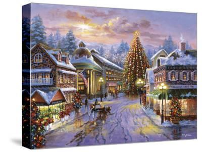Christmas Eve-Nicky Boehme-Stretched Canvas Print