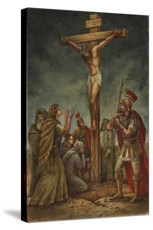 Cross-Val Bochkov-Stretched Canvas Print