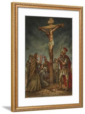 Cross-Val Bochkov-Framed Giclee Print