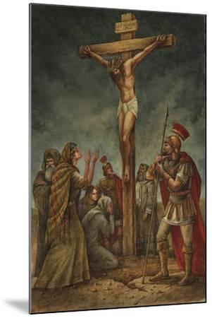 Cross-Val Bochkov-Mounted Giclee Print