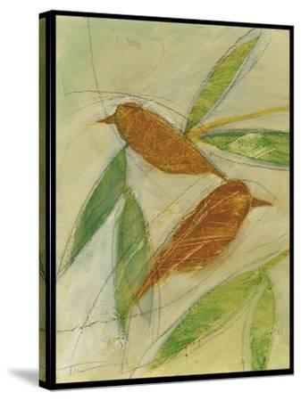 Brown Birds at Rest-Tim Nyberg-Stretched Canvas Print