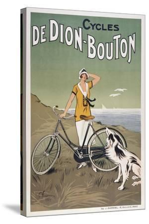Cycles De Dion-Bouton--Stretched Canvas Print