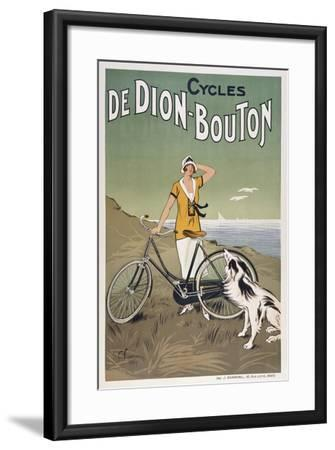 Cycles De Dion-Bouton--Framed Giclee Print