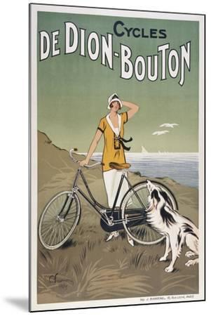 Cycles De Dion-Bouton--Mounted Giclee Print