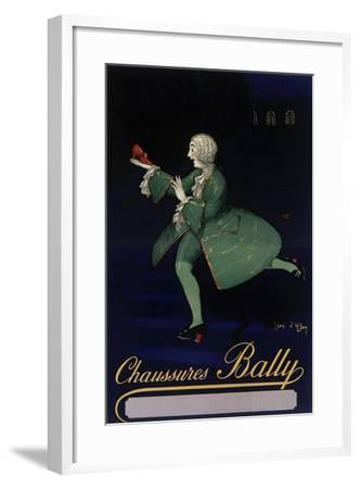 Chaussures Bally--Framed Giclee Print