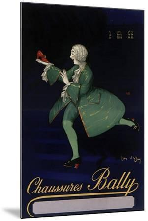 Chaussures Bally--Mounted Giclee Print