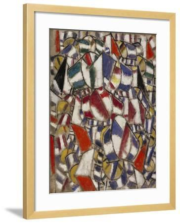 Contrast of Forms--Framed Giclee Print