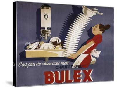 Bulex Water Heater Belgium--Stretched Canvas Print