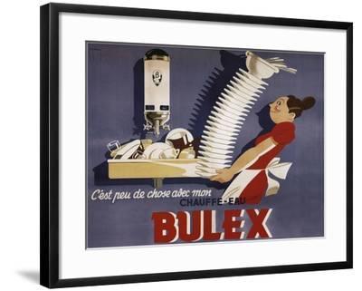 Bulex Water Heater Belgium--Framed Giclee Print