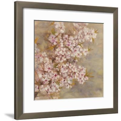 Cherry Blossom II-li bo-Framed Giclee Print