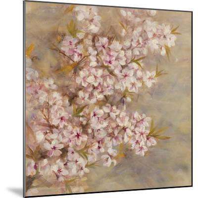 Cherry Blossom II-li bo-Mounted Giclee Print