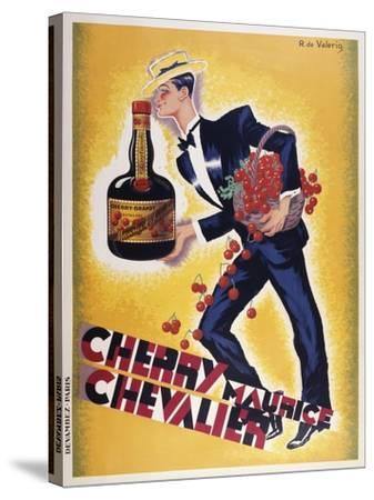 Cherry Maurice Chevalier--Stretched Canvas Print