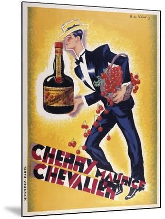 Cherry Maurice Chevalier--Mounted Giclee Print