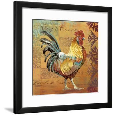 Coq Motifs I--Framed Giclee Print