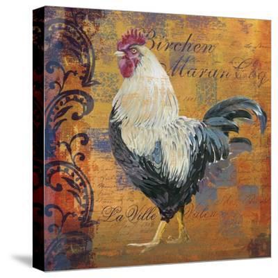 Coq Motifs III--Stretched Canvas Print