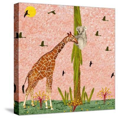 Bosom Buddies XI-David Sheskin-Stretched Canvas Print