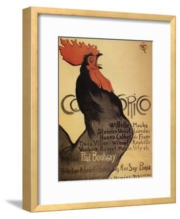Cocorico Cteinlen--Framed Giclee Print