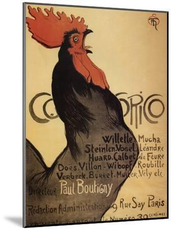 Cocorico Cteinlen--Mounted Giclee Print