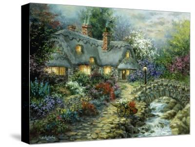 Country Cottage-Nicky Boehme-Stretched Canvas Print