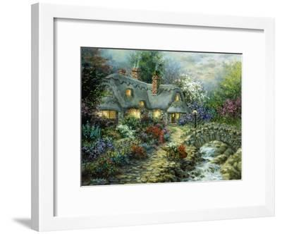 Country Cottage-Nicky Boehme-Framed Giclee Print