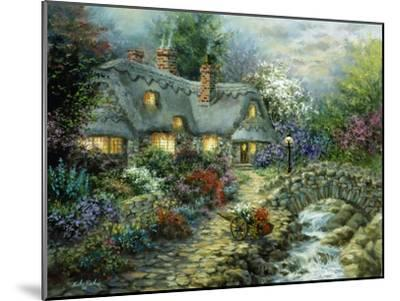 Country Cottage-Nicky Boehme-Mounted Giclee Print