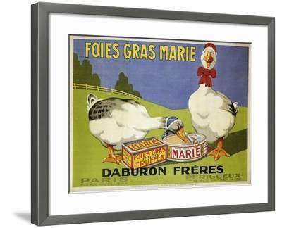 Foiesgrasmarie--Framed Giclee Print
