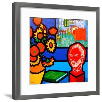 Homage to Van Gogh 3-John Nolan-Framed Giclee Print