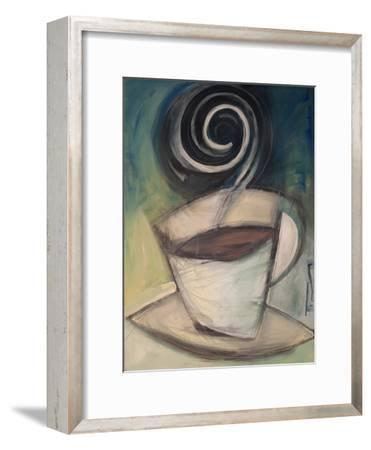 First Cup of the Day-Tim Nyberg-Framed Premium Giclee Print