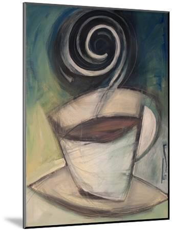 First Cup of the Day-Tim Nyberg-Mounted Premium Giclee Print