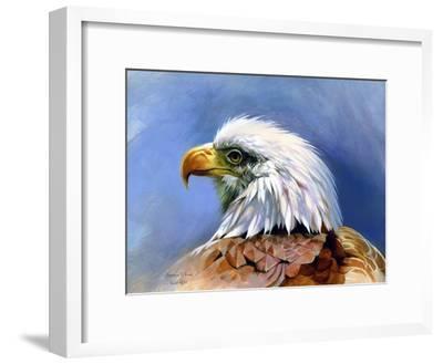 Eagle Portrait-Spencer Williams-Framed Giclee Print