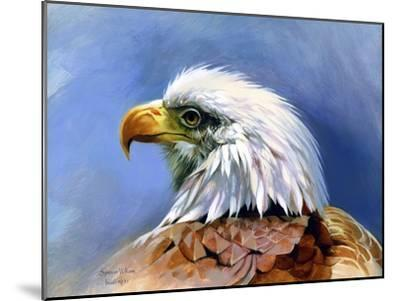 Eagle Portrait-Spencer Williams-Mounted Giclee Print