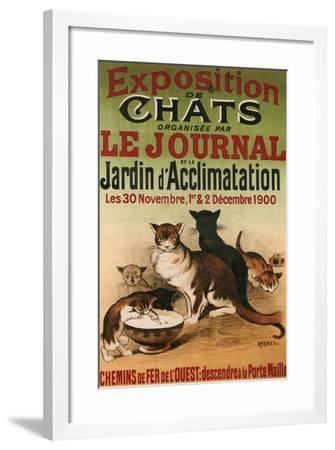 Exposition De Chats--Framed Giclee Print