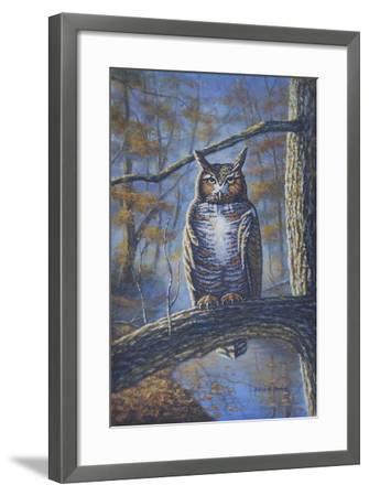 Great Horned Owl-Bruce Dumas-Framed Giclee Print