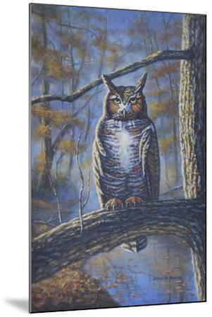 Great Horned Owl-Bruce Dumas-Mounted Giclee Print