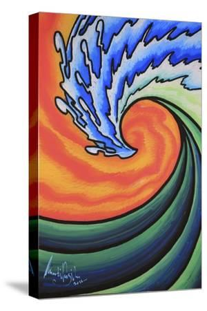 Great Wave-Martin Nasim-Stretched Canvas Print