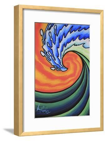 Great Wave-Martin Nasim-Framed Giclee Print