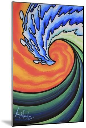Great Wave-Martin Nasim-Mounted Giclee Print
