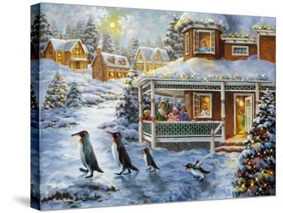 Hey! Wait for Me-Nicky Boehme-Stretched Canvas Print