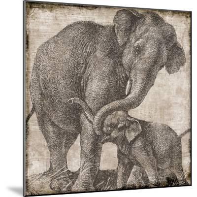 elephant 2--Mounted Giclee Print
