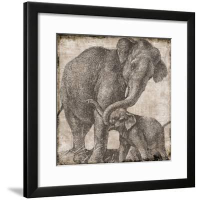 elephant 2--Framed Giclee Print