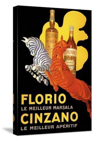Florio Cinzano--Stretched Canvas Print