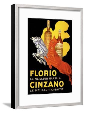 Florio Cinzano--Framed Giclee Print