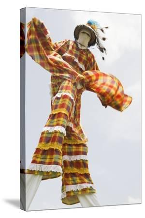 Moko Jumbie in St. Croix-Macduff Everton-Stretched Canvas Print