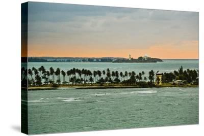 Sra and Old San Juan in Distance, Puerto Rico-Massimo Borchi-Stretched Canvas Print