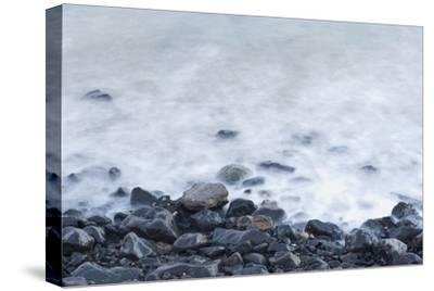 Pebbles on Playa Blanca, Lanzarote, Yaiza, Spain-Guido Cozzi-Stretched Canvas Print